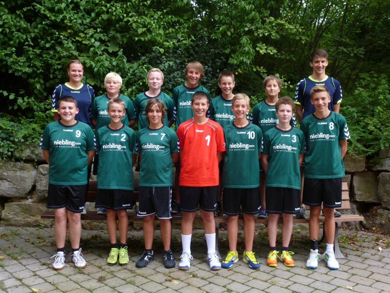 ÜBOL NM – C-Jugend männlich HG Ansbach : TV 77 Lauf 22:20